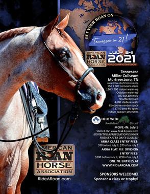 2021 ARHA World Show Ad