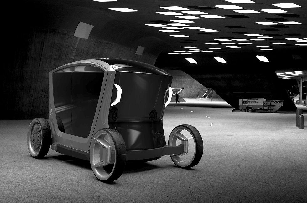 Daniel Rauch, studiorauch, Industrial Design, Produktdesign, Essen, Carriage, Transportatopn Design