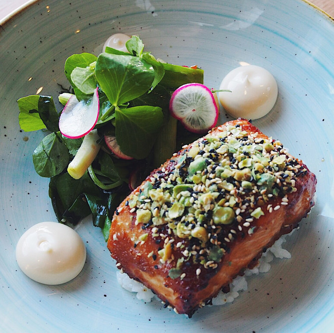 The mind behind the Miso Baked Salmon
