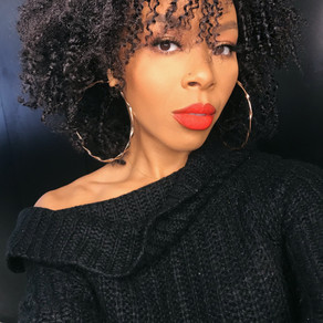 Moisturized Twist Out on Type 4 Hair