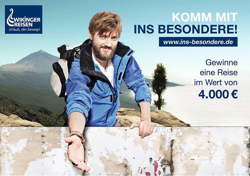 Werbefotografie Plakat Wikinger Reisen Hagen