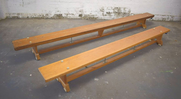 Old School Gym Benches