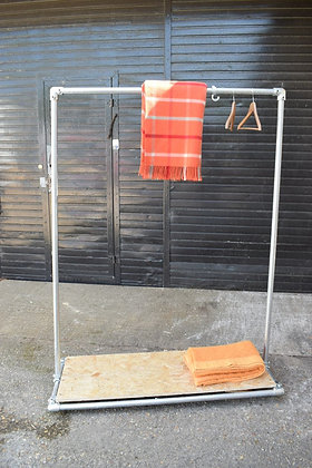 Rustic Coat & Storage Stand