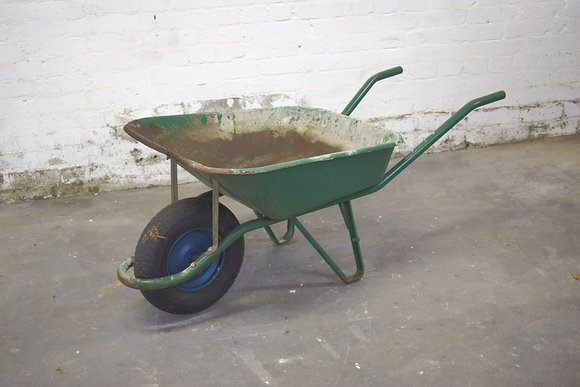 Rustic & Vintage Wheel Barrows