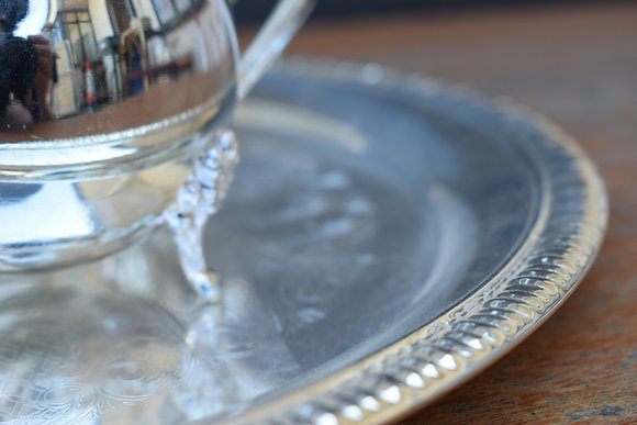 Vintage Sliver Plated Tea-Serve