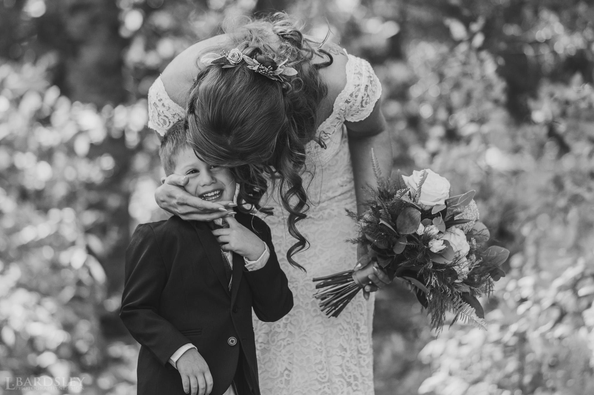 Lisa & Justin's wedding day