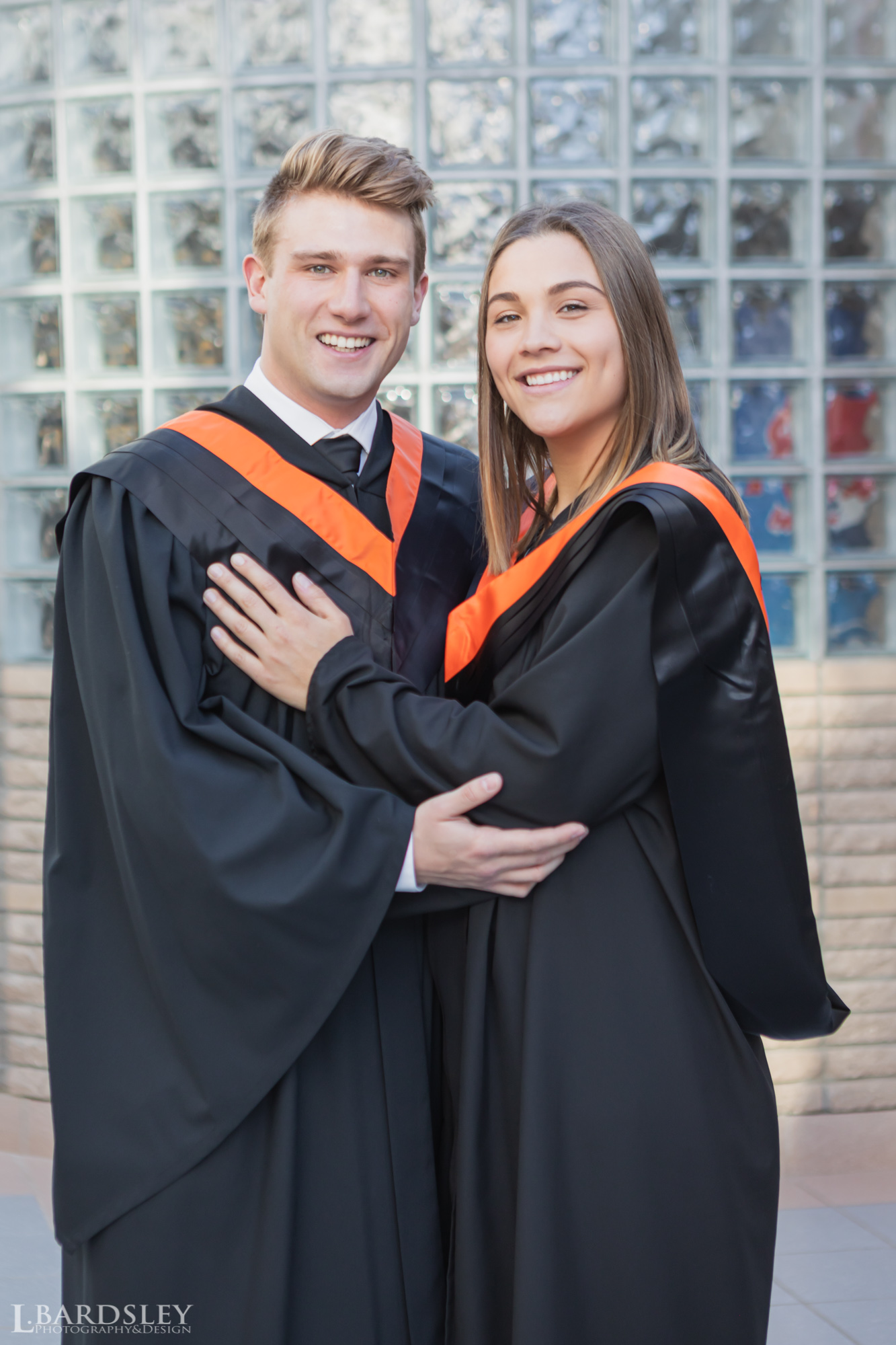 Graduation couple