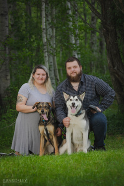 Caitlyn & her family