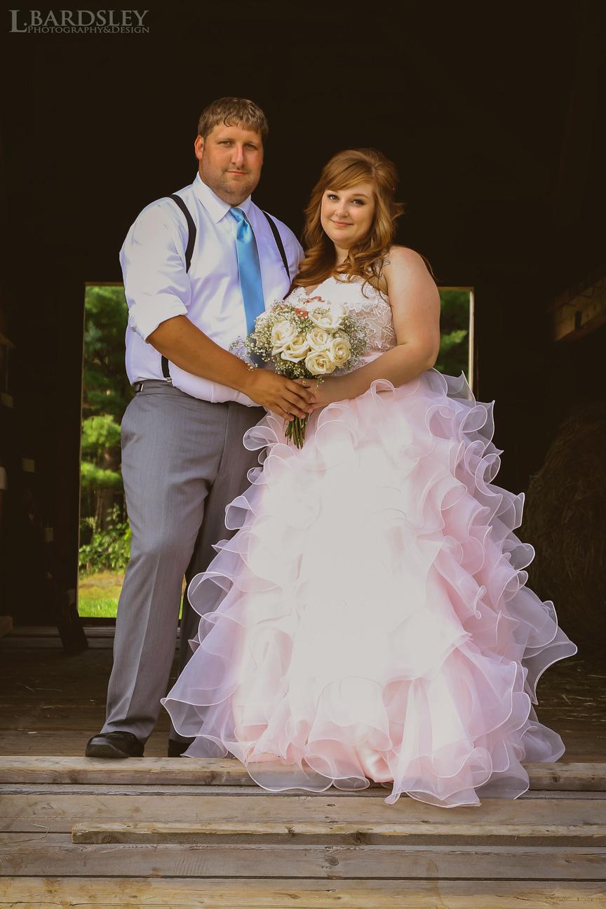 Crystal & Jason Reynolds Wedding day