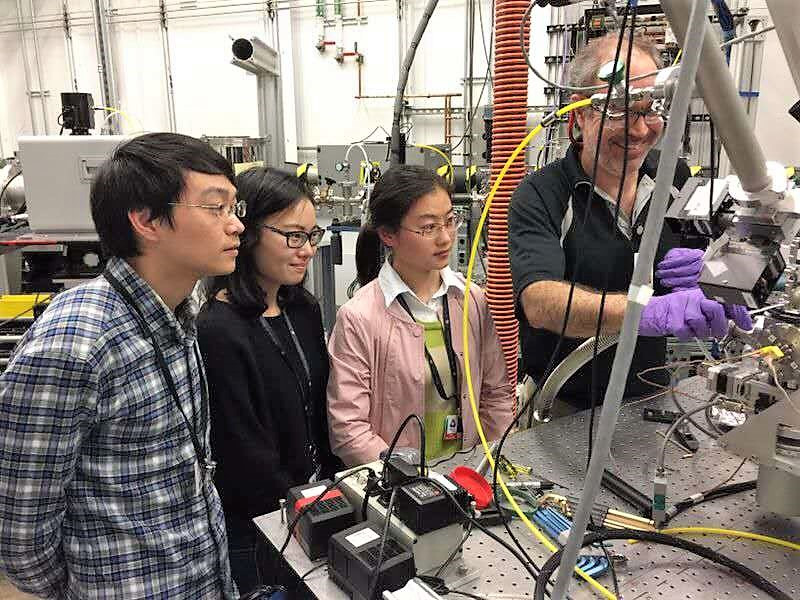 Students worked at Advanced Photon Source, Argonne National Laboratory, U.S.A.