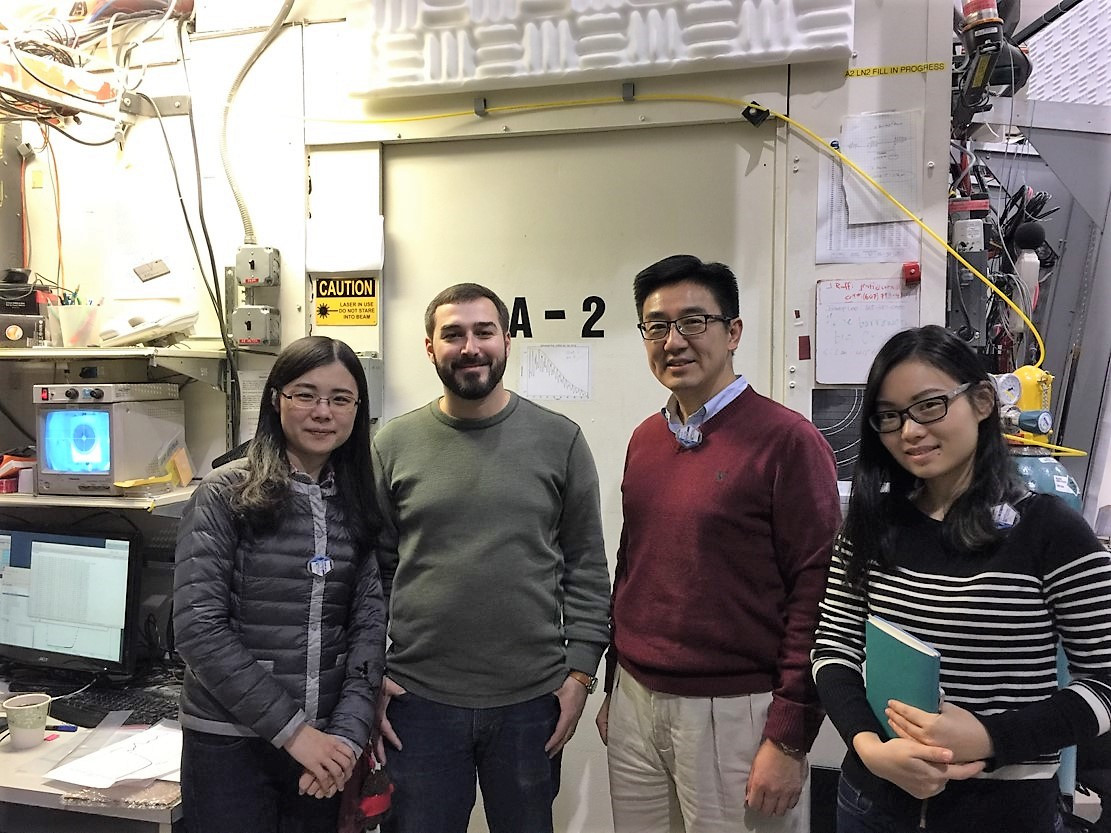 Prof. Xun-Li Wang and his research team worked at Cornell University, U.S.A.