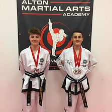 teenage Black belt medals.jpg