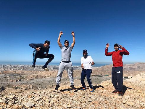 Fun Adventure Activites in UAE, things to do in RAK, hiking, kayaking, trekking, canyoning, mountains, via ferrata, camping, jebel jais