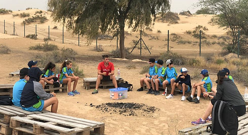 Al Bedia Desert overnight school camp Sharjah