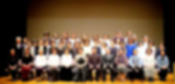 発表会の集合写真