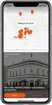 La Marzocco Bars iPhone Screen shot.png