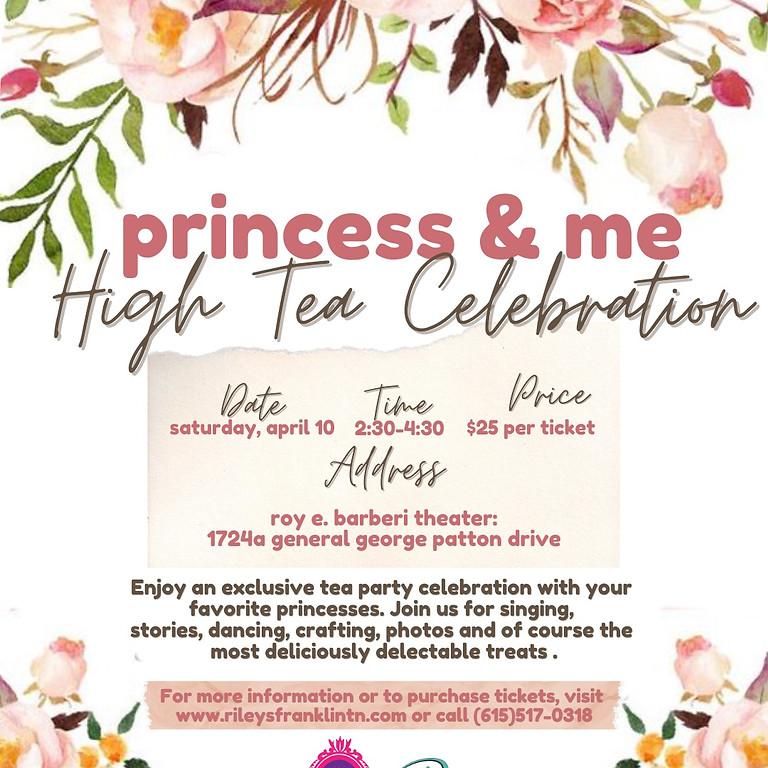 Princess & Me High Tea Celebration