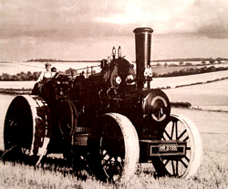 Ploughing Steam Engine