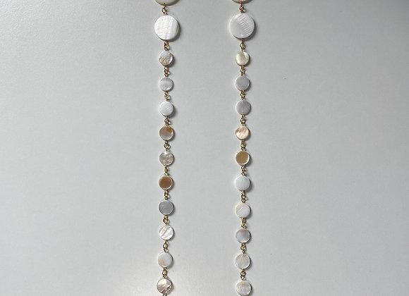 THIRTEEN MOONS PREHNITE Earrings