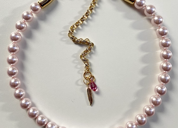 WILD ROSE Pearl Necklace
