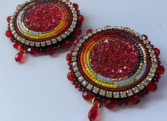 YEAR OF THE OX Beaded Earrings