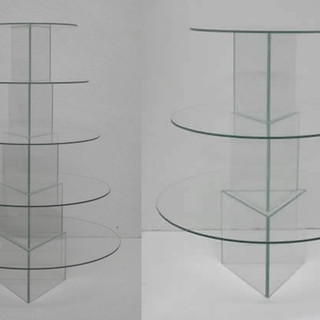 3_5 tier glass stand