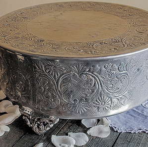 embossed silver