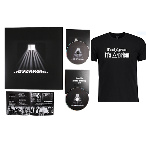 Deluxe Package!! T shirt, Vinyl, 20 page booklet, DVD, Cd!!