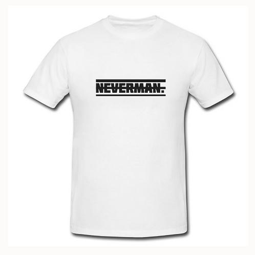Neverman Plain White Tee