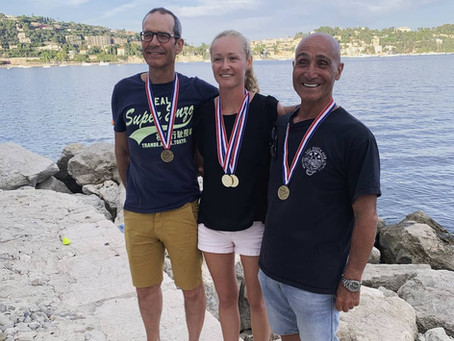 Triple-Success for FCG members at the French Depth Championships 2021!