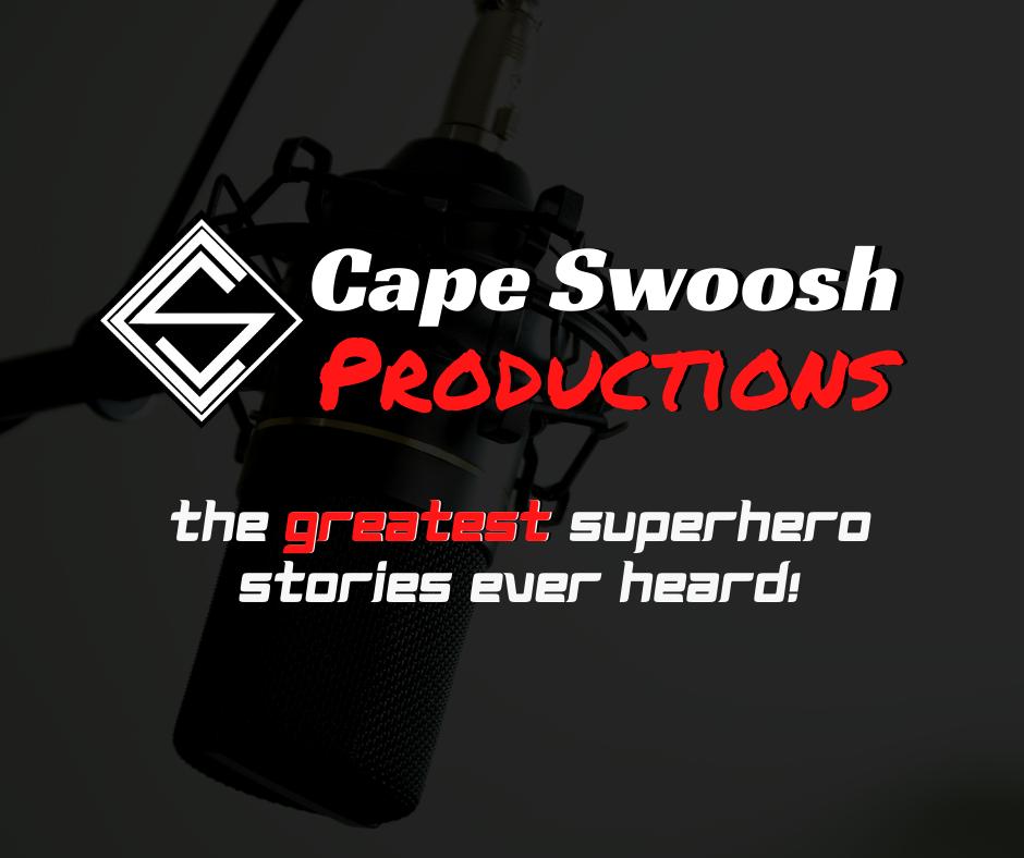 Cape Swoosh Productions card