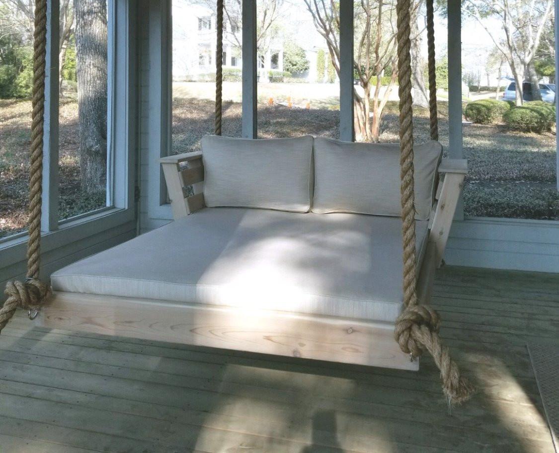 """Custom Sized Cedar Swing w/ 1 1/2"""" rope"""