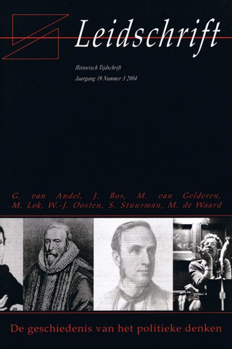 19.3 De geschiedenis van het nieuwe politieke denken