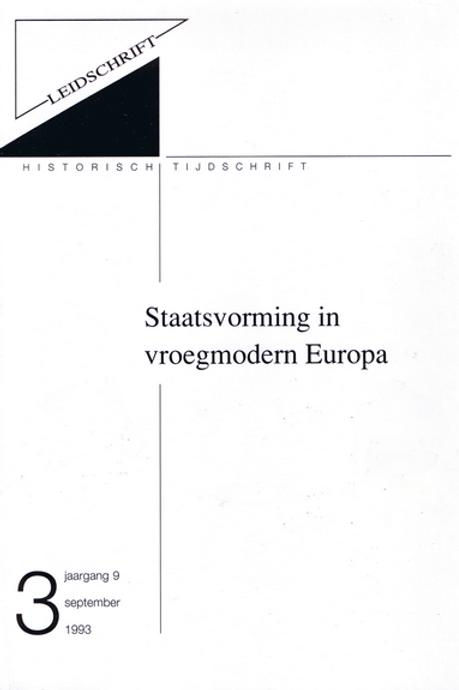9.3 Staatsvorming in vroegmodern Europa