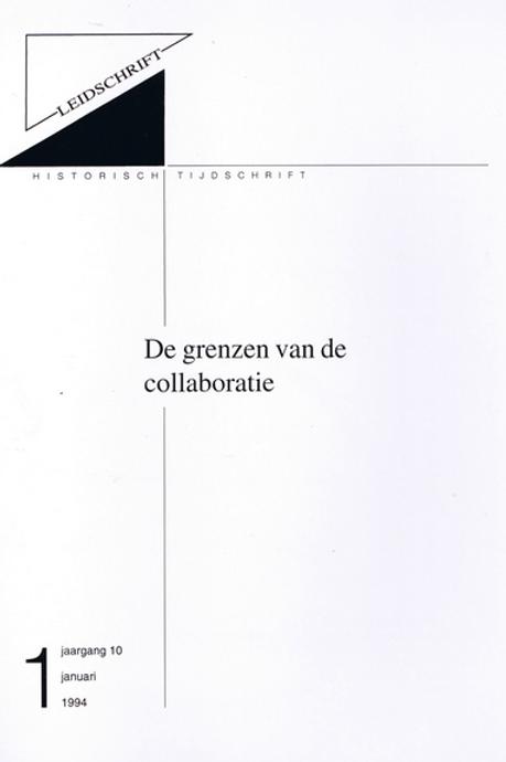 10.1 De grenzen van collaboratie