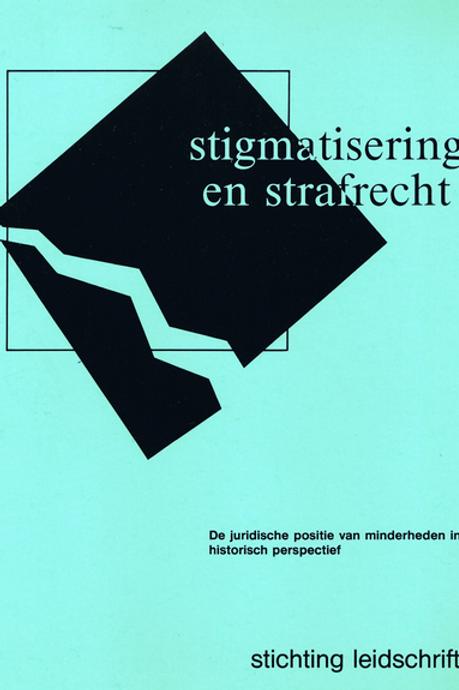 Stigmatisering en strafrecht