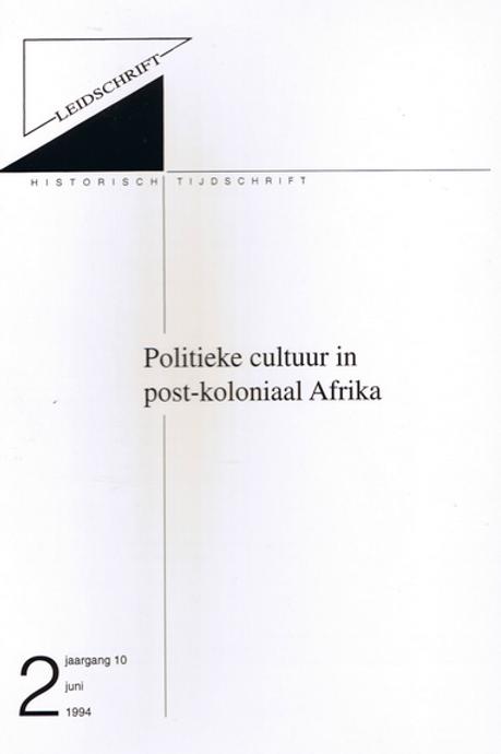 10.2 Politieke cultuur in post-koloniaal Afrika
