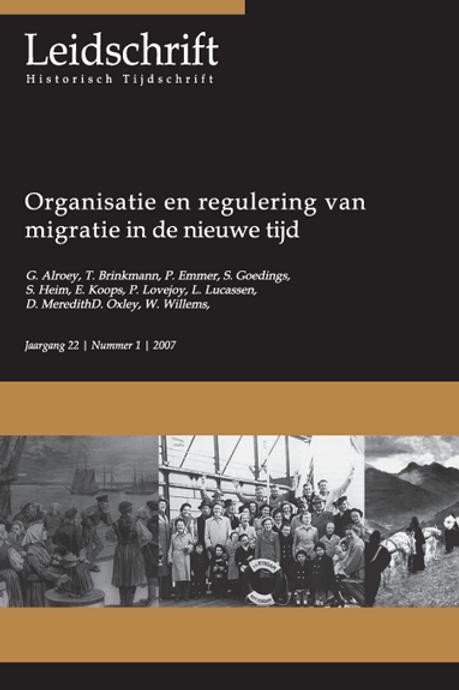 22.1 Organisatie en regulering van migratie