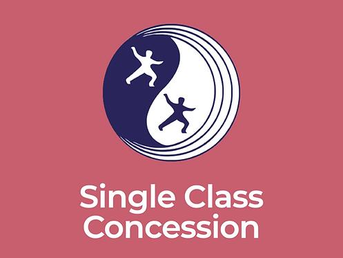 Eltham Centre Celestial Tai Chi College – Single Class Concession Fee
