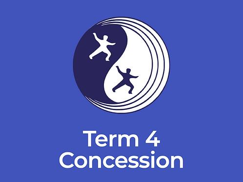 Eltham Centre Celestial Tai Chi College – Term 4 Concession Fee