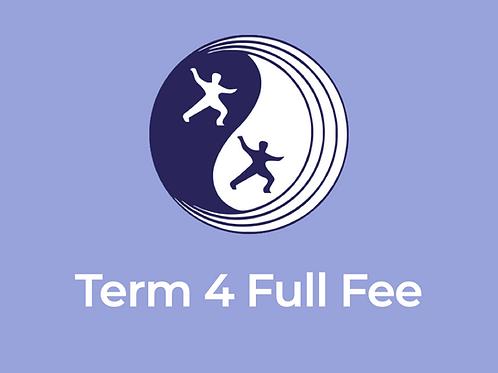 Eltham Centre Celestial Tai Chi College – Term 4 Full Fee