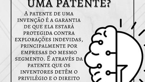 Pra que serve uma patente?