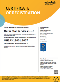 OHS QATAR STAR