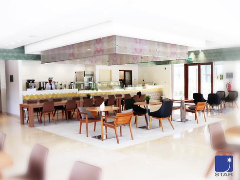 Doha Institute for Graduate Studies cafeteria