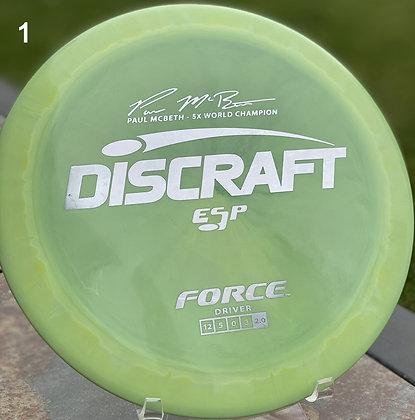 Force ESP Paul McBeth Signature