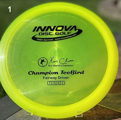 Champion TeeBird Ken Climo