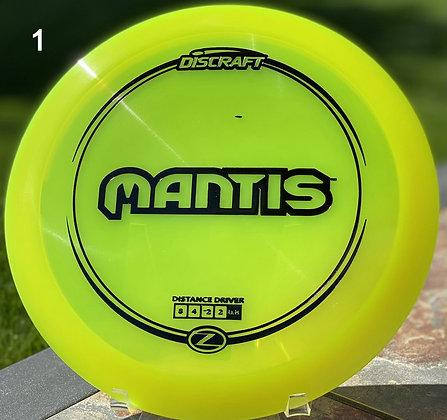 Mantis Z plastic