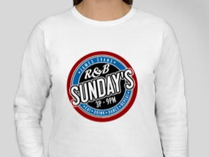 R&B SUNDAYS LADIES LONG SLEEVE TEE