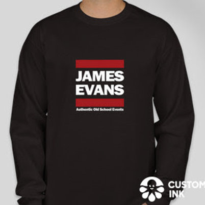 Classic long sleeve crew neck sweatshirt