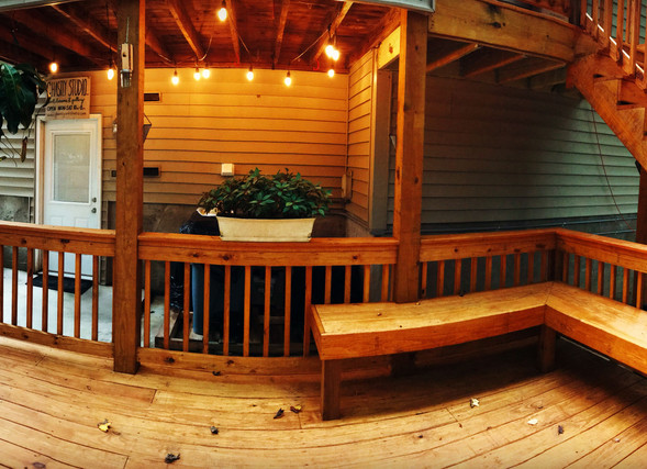 Outdoor Waiting Area